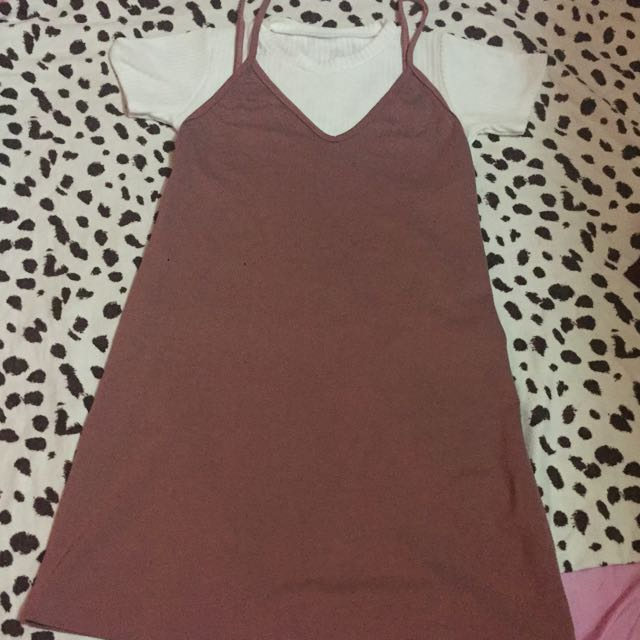 Cotton Jumper Dress