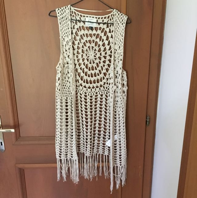 Cotton On crochet Vest