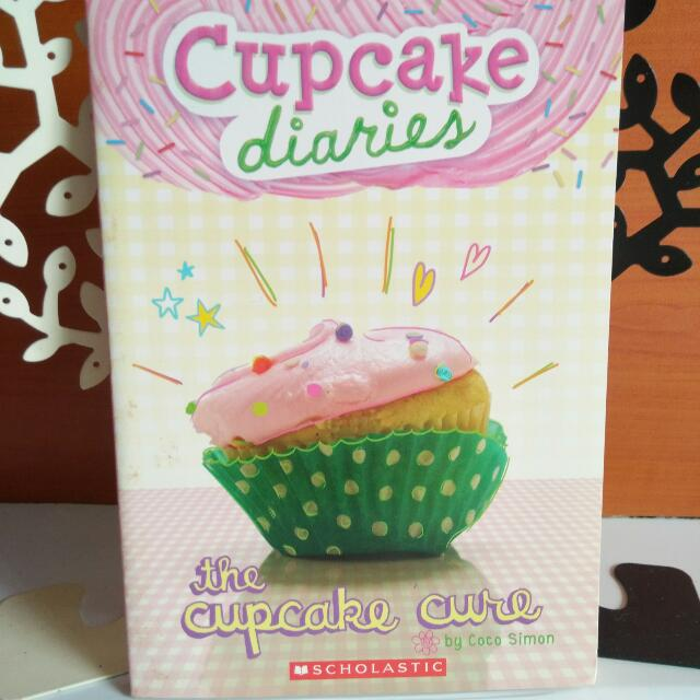 Cupcake Diaries the cupcake cure by Coco Simon