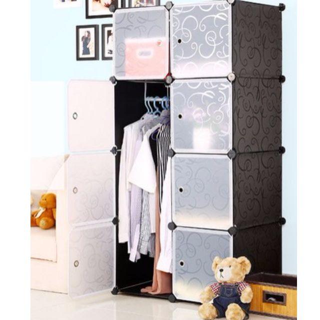 DIY 16XL Cube Storage Cupboard Wardrobe