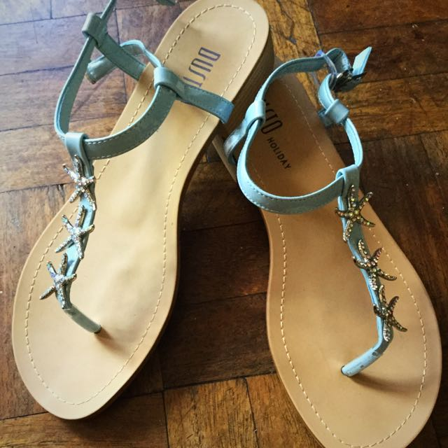 Dusto Holiday Sandals (Sky Blue)