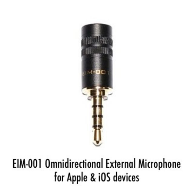 Edutige EIM 001 microphone audio jack for Apple Iphone Ipad and Android