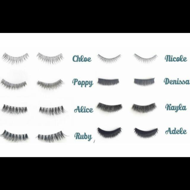 Eyelashes (human hair)