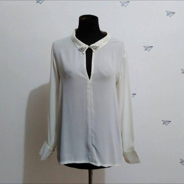 Fleur White Shirt