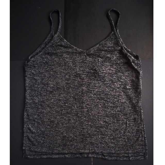 FOREVER21 (Brand New) Marled Spaghetti-strap top