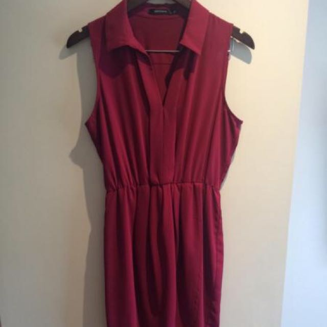 Fuchsia Size 10 Portmans Dress