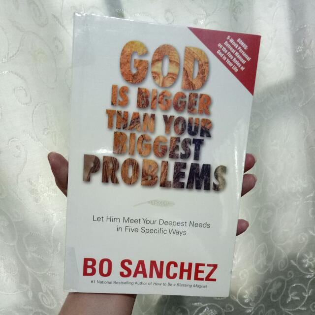 God Is Bigger Than Your Biggest Problems by Bo Sanchez