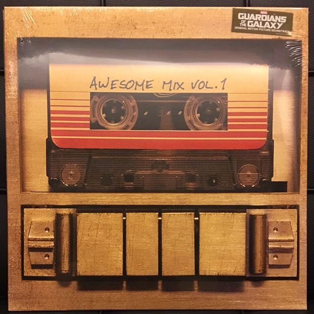 vinyl lp new guardians of the galaxy awesome mix vol 1