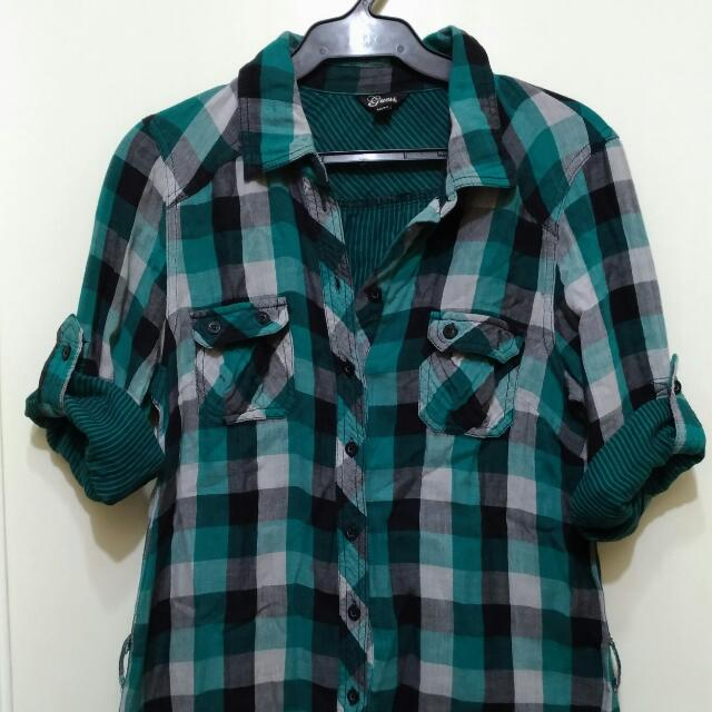 Guess Checkered Polo