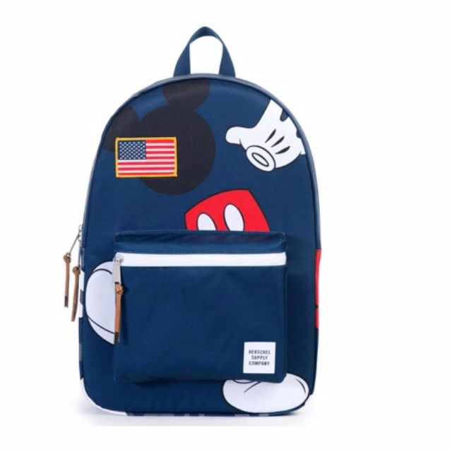 ff3ceab3e5 Herschel Supply Co. Mickey Mouse Settlement Backpack (Navy)