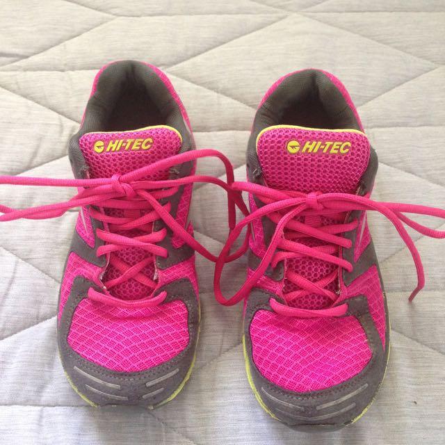 Hi Tech Pink Athletic Shoe Size 7 US
