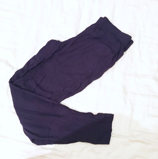 H&M Harem Pants (Dark Blue)