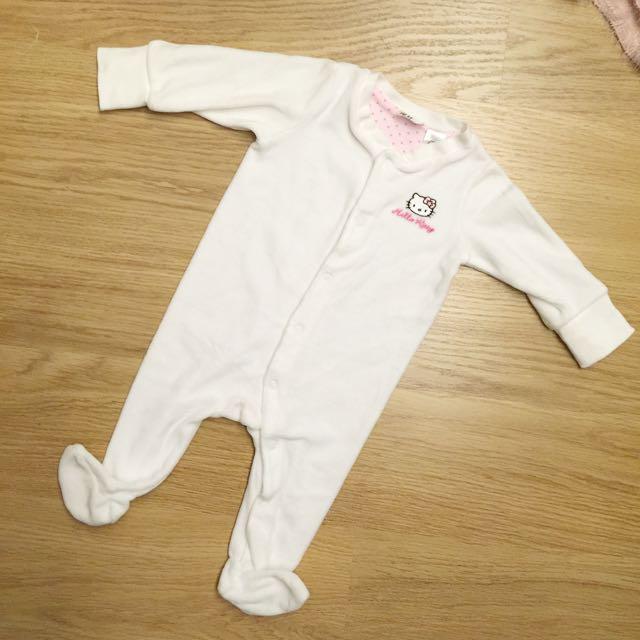 H&M Hello Kitty 寶寶連身衣