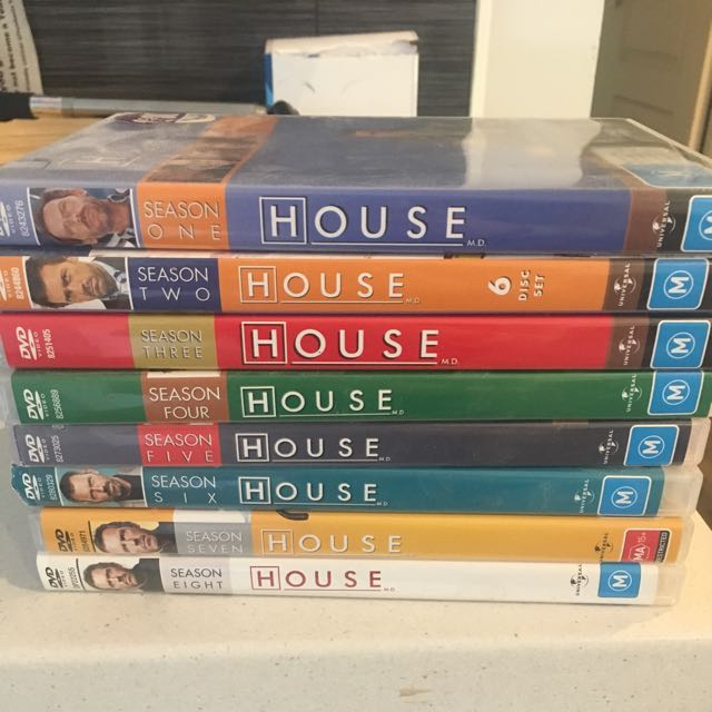 House Full Series Seasons 1-8