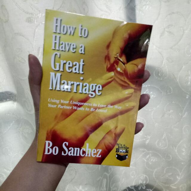 How To Have A Happy Marriage by Bo Sanchez
