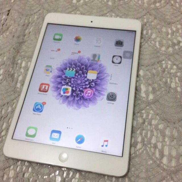 Ipad Mini 1 White, 16 GB 4G Cell+Wifi