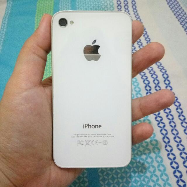 iPhone 4 white (mulus abezz)