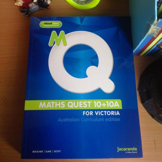 Maths quest 10A