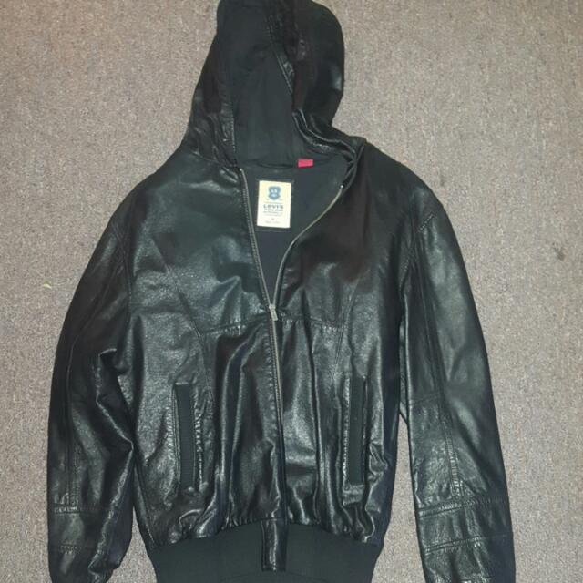 Men's Genuine Leather Jacket - Levi's.