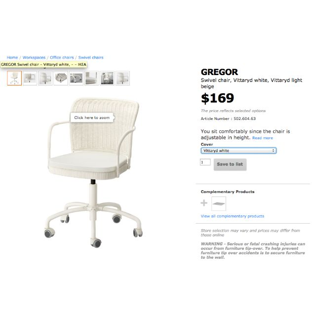 gregor swivel chair vittaryd white. Comfortable IKEA Chair With FREE Small Carpet, Home \u0026 Furniture, Tables Chairs On Carousell Gregor Swivel Vittaryd White R