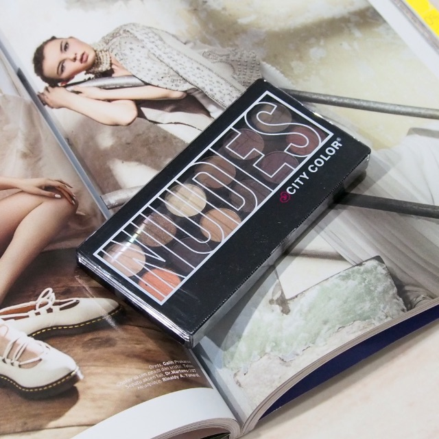 NEW CITY COLOR Nudes Eyeshadow Pallete