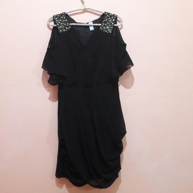 Night Party Dress - Black