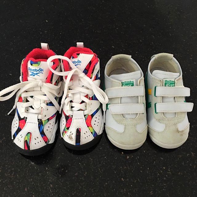 Onitsuka Tiger And Reebok Toddler's Shoes