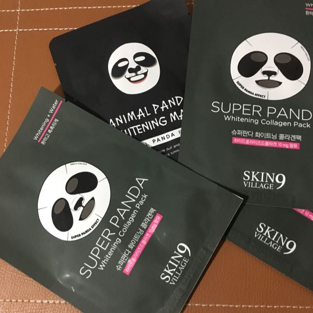 PANDA MASK ( MASKER KOREA ) Animal Mask! Ma