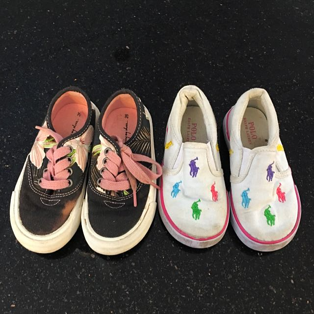 POLO Ralph Lauren And Zara Girls Shoes