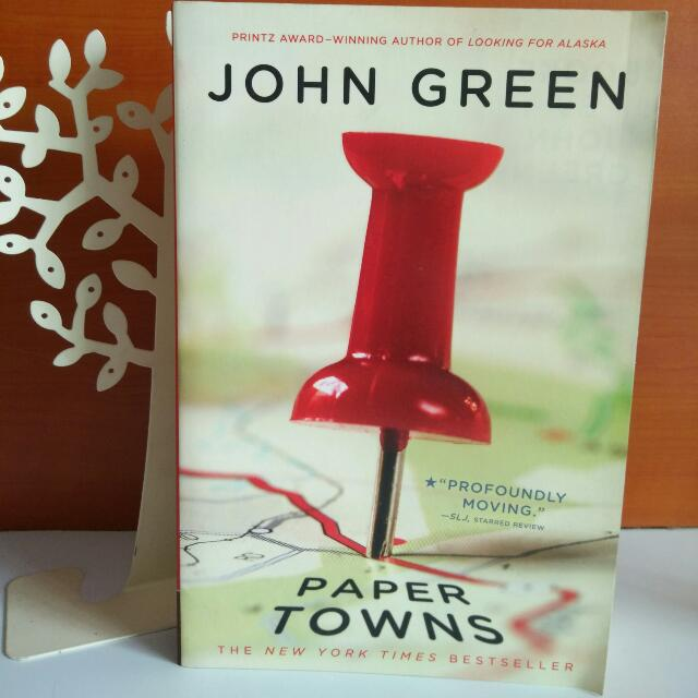 Reserved: Paper Towns by John Green