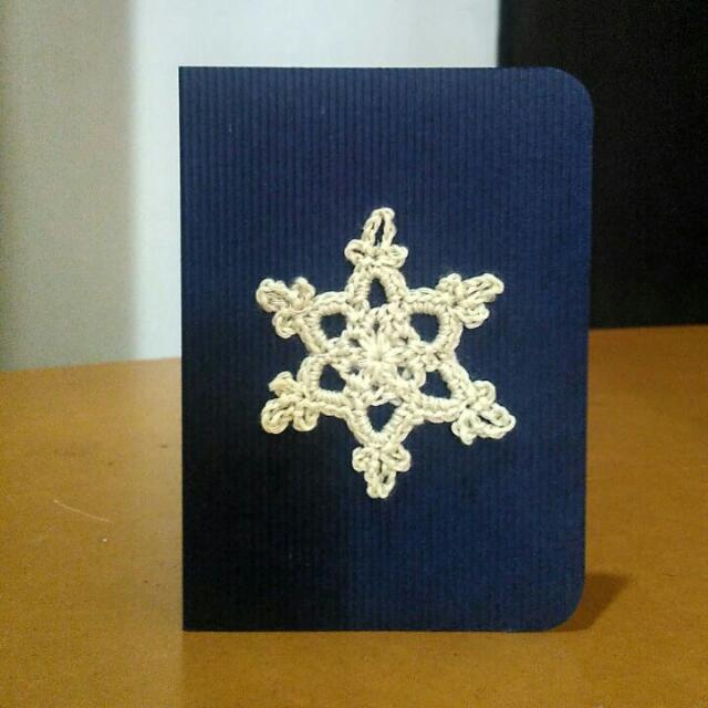 Snowflakes Pop Up Christmas Card