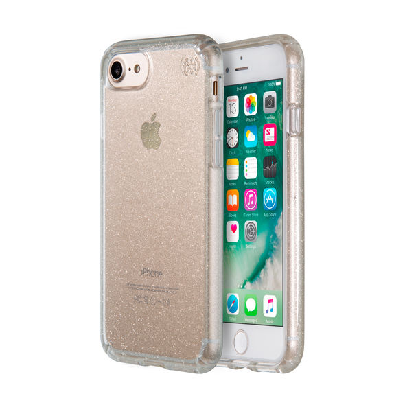 pretty nice 02fe1 79dcf SPECK ORIGINAL iphone 7 Plus Casing (Presidio Clear Glitter / Color:Clear  Gold Glitter)
