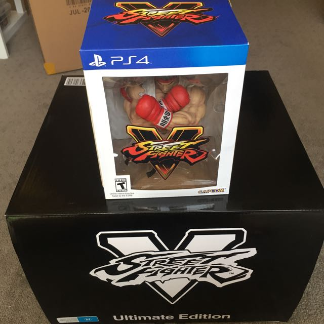 Street Fighter 5 Collectors Edition - 2 For 1 Price