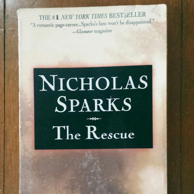 THE RESCUE BY NICOLAS SPARKS