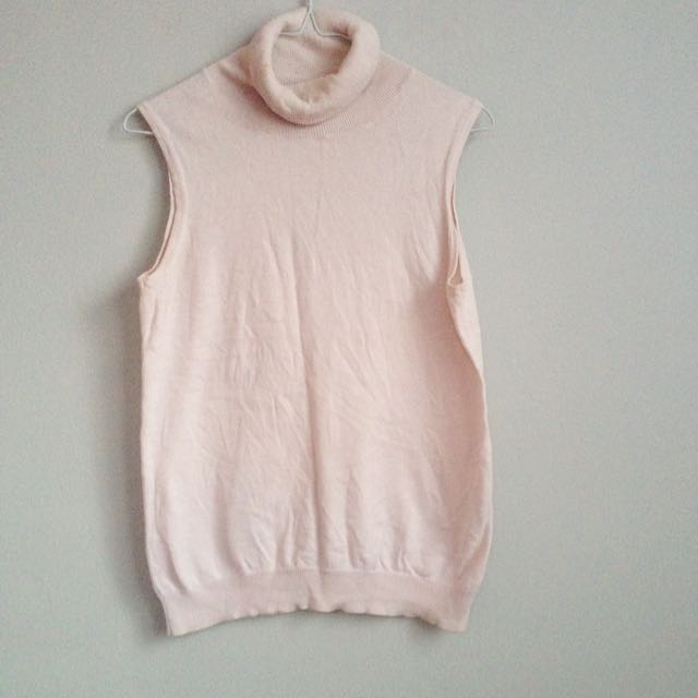 Turtle Neck Soft Pink