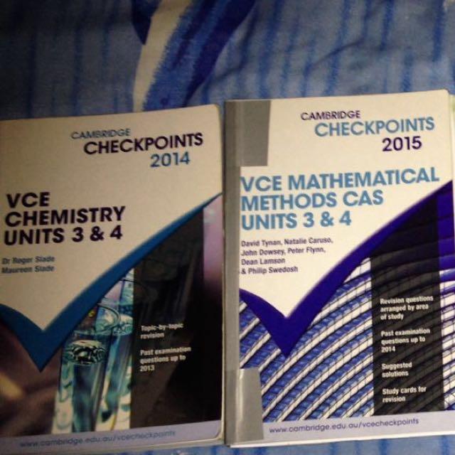 VCE Unit 3&4