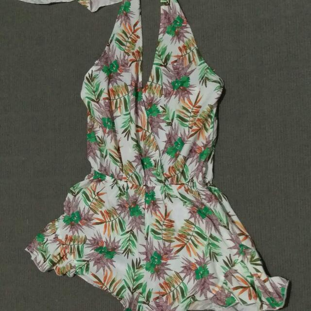 Sold Pending Vintage Inspired Tiki Ninei Playsuit