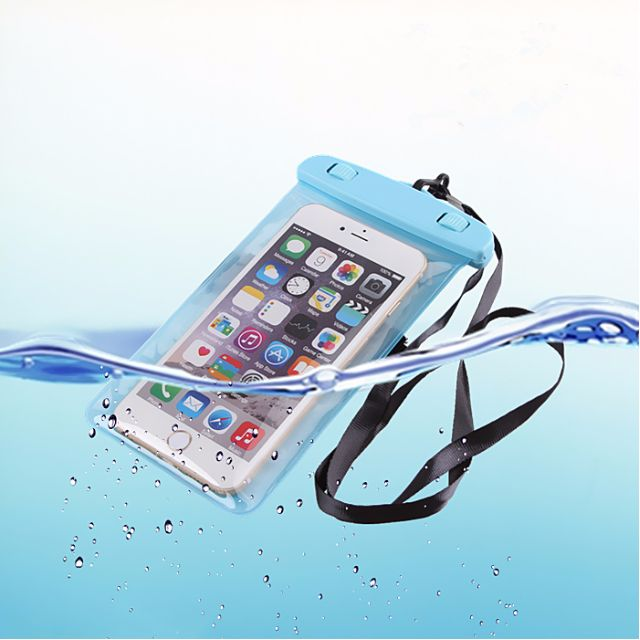 reputable site 67211 8caa5 [IN STOCK] Waterproof Bag Pouch Underwater Glowing Cover for Smartphone  iPhone Galaxy Phone
