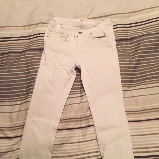 White Rag & Bone Jeans