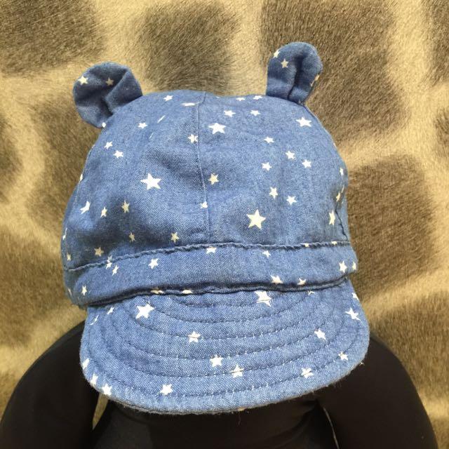 Zara Baby 耳朵牛仔帽