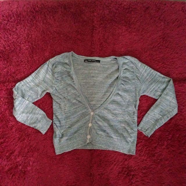 Zara Crop Knit Sweater