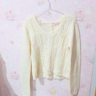 Colorbox White Sweater