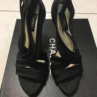 Zara 繃帶高跟鞋