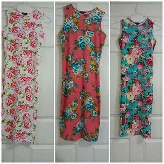 3 bodycon dresses