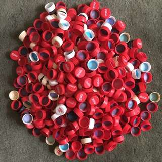 400+ CocaCola Lids