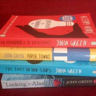 John Green 4x books