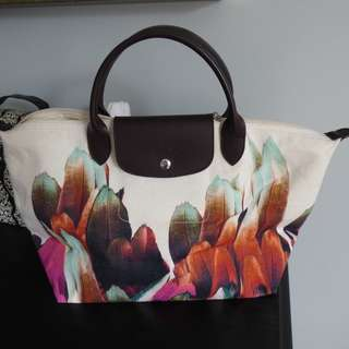 Longchamp Le Pliage Tribu Tote Bag EUC