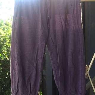 Purple Dancing Capris