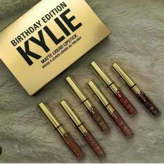 6 Pcs. Mini Kylie Birthday Edition Lipcream Set