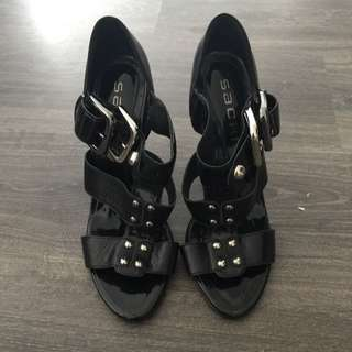 Black Carlie Sachi Shoes